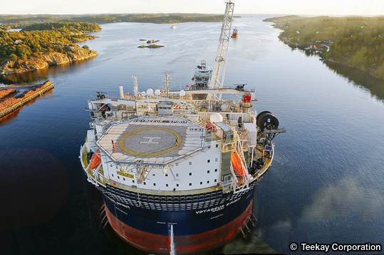 Huntington Field's FPSO, The Teekay Voyageur Spirit