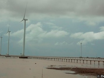 Bac Lieu Wind Farm Vietnam