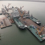Allseas' Pioneering Spirit In Rotterdam