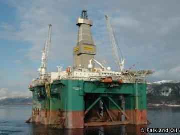 Eirik Raude Semi-submersible Drilling Rig