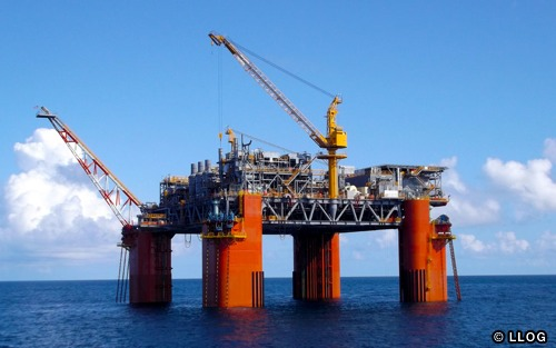 LLOG's Delta House Floating Production System, Gulf of Mexico, USA.