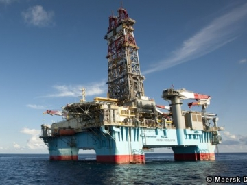 Maersk Drilling Semi-submersible- The Maersk Developer.