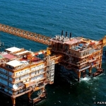 PARS South Platform, Persian Gulf, Iran