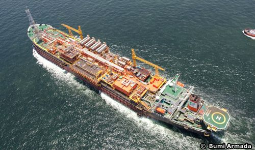 The Armada Perdana FPSO On Location Offshore Nigeria