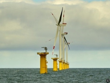 UK South Cost Rampion Offshore Wind Farm