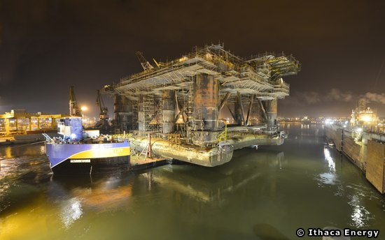 Ithaca Energy's Greater Stella Area FPF-1 Floating Production Facility. Petrofac Cause Delays