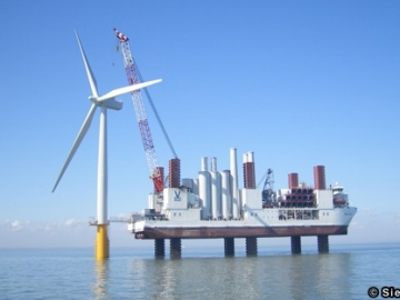 Siemens UK Offshore Wind Farm