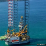 A Hercules Jackup Drilling Rig, Gulf Of Mexico