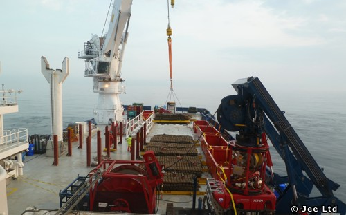 Jee Testing Its Subsea Mattress Recovery Solution
