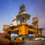 Odfjell Drilling's Deepsea Atlantic Semi-submersible Drilling Rig