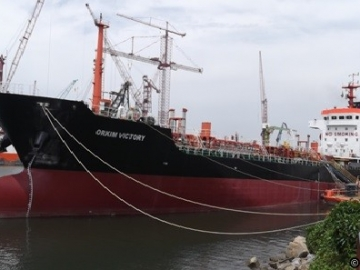 The Orkim Victory, Hijacked Off Malaysia For Its Cargo Of Fuel