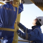 Petrofac Workers At The Laggan-Tormore gas project