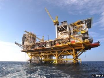 Petronas Dulang B Platfrom