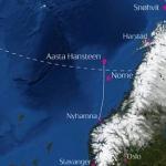Satoil Map Of The Aasta Hansteen Offshore Development