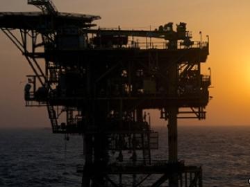 ENI's Perla Gas Platform, Offshore Venezuela.