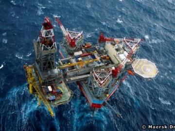 Maersk Drilling Offshore Jackup Drilling Rig The Maersk Gallant