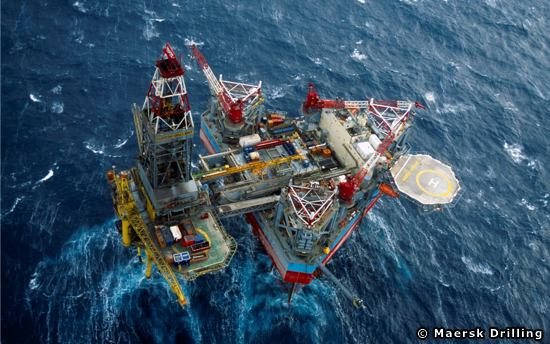 Maersk Drilling Offshore Jackup Drilling Rig The Maersk Gallant