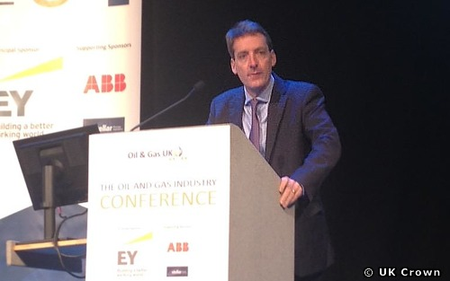 UK OGA Chief Executive Andy Samuel At Offshore Oil & Gas UK Conference
