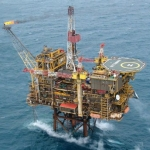 Petrofac Operated Kittiewake Platform, Offshore UK North Sea