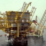 Rumailah Jack_up Rig Collapsed Offshore Qatar