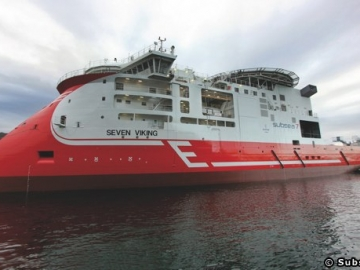 Subsea Sevens, Offshore IMR Vessel The Seven Viking
