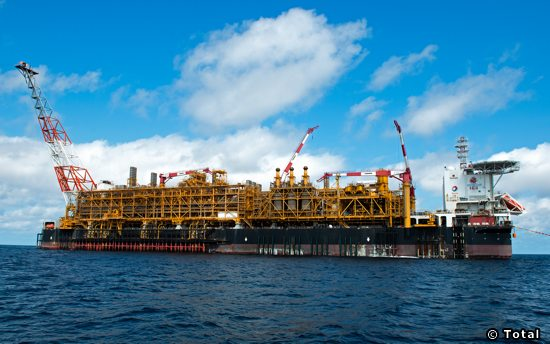 The Total Operated Dalia FPSO, Offshore Angola