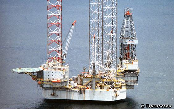 Transocean's Constellation 2 Offshore Jack-up Drilling Rig