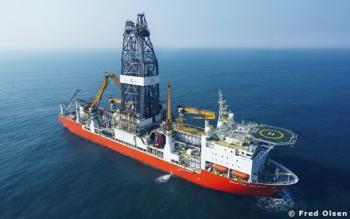 The Bolette Dolphin Deepwater Offshore Drill Ship