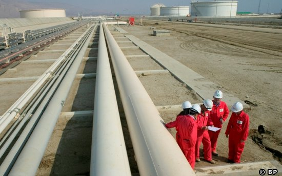 A Section Of The Azerbaijan To Turkey Gas Pipeline