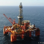 Offshore Semisubmersible Drilling Rig, The Bredford Dolphin