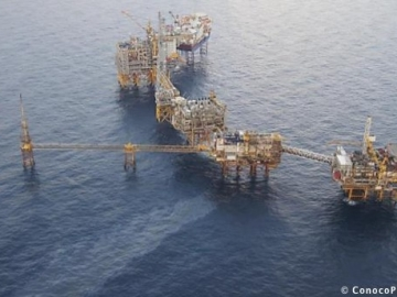 Oil Leak On The ConocoPhillips Eldfisk Complex, Offshore Norway
