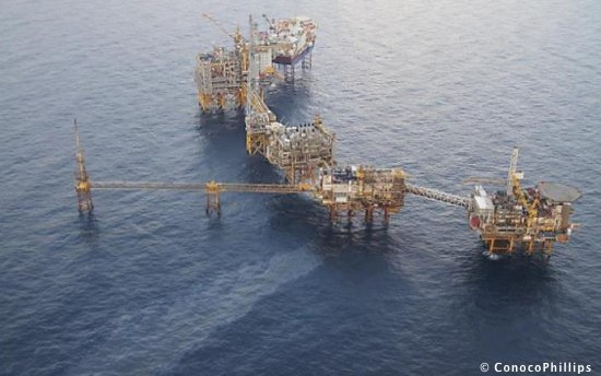 Oil Leak On The ConocoPhillips Eldfisk Complex, Offshore Norway