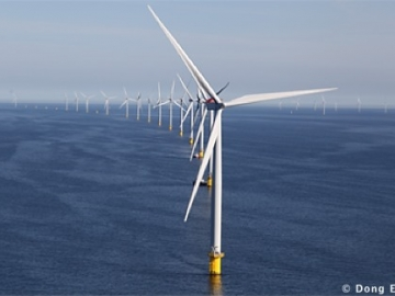 One Of Dong Energy's UK Offshore Wind Farms