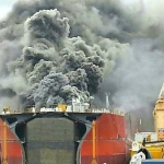 Fire Onboard An LPG Vessel At Daewoo Shipyard South Korea Kills Two