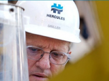 A Hercules Offshore Drilling Worker