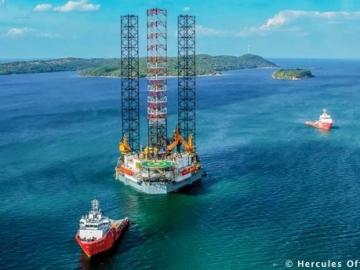 Hercules Offshore Jackup Drilling Rig Hercules Triumph