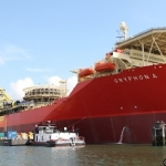 Maersk Oil's Gryphon Alpha FPSO, In The Port Of Rotterdam After Repairs