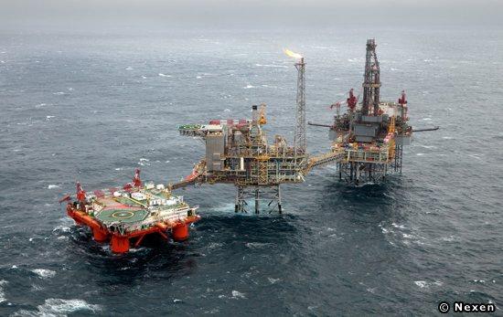 Nexen Offshore North Sea Golden Eagle Platform