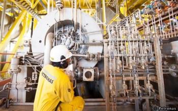 A Petronas Production Technician, Malaysia