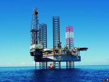 Offshore Drilling Rig, In Repsol's Venezuelan Perla Field