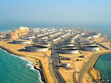 A Saudi Arabian Crude Oil Storage Facility