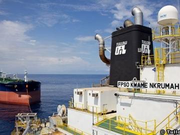 Tullow Oil's FPSO Kwame Nkrumah, Offshore Ghana