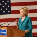 US Presidential Hopeful Hillary Clinton Speaks Out At Offshore Arctic Drilling