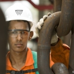 A Wood Group Worker Offshore Brazil