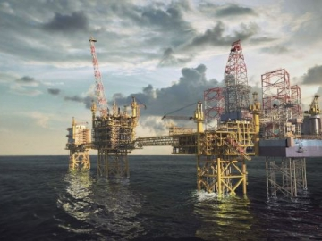 Maersk Culzean Offshore Oil Field