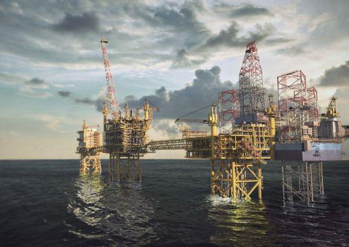 Maersk Culzean Offshore Oil Field