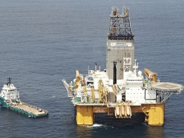 Odfjell Drilling Offshore Semisubmersible Drilling Rig Deepsea Stavanger