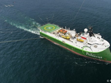 Polarcus Naila Offshore Seismic Survey Vessel