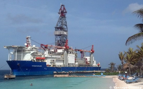 Deepwater Offshore Drillship The Titanium Explorer