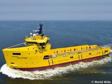 The Offshore Platform Supply Vessel, World Peridot